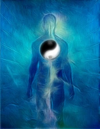 25262976 - yin yang human
